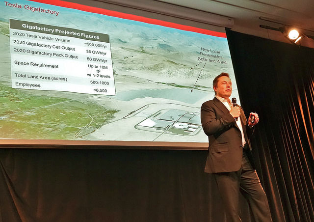 Tesla says Reno journalist drove into security guards on Gigafactory grounds