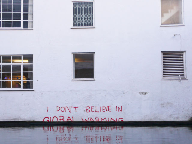 Graffiti attributed to Banksy.