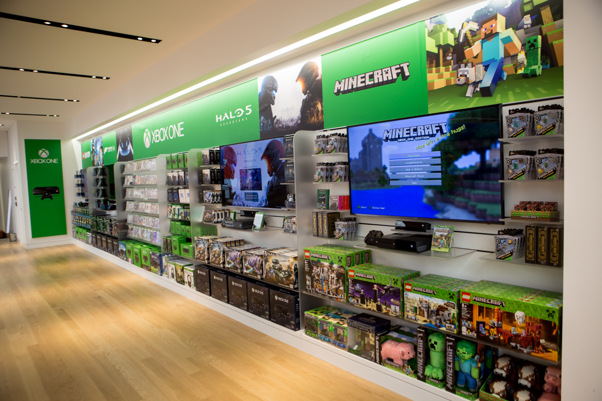 Microsoft S New New York City Store Shakes Up A Familiar