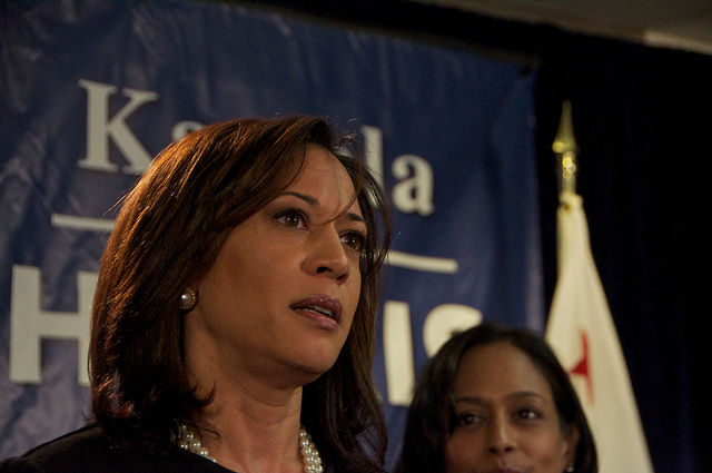 Attorney General Kamala Harris in 2010.