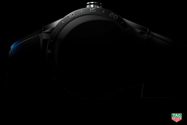 Tag Heuer's teaser image for its upcoming smartwatch.