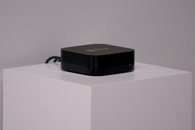 The new Apple TV box.