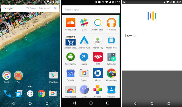 The Android Google app is the home screen, app drawer, voice search, and, of course, regular search.