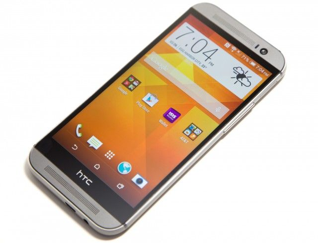 The HTC One M8 is one of the company's older phones to be updated, even though it's only a year-and-a-half old.