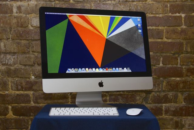 The new 4K iMac's body looks a lot like the 2013 iMac's, pictured here.