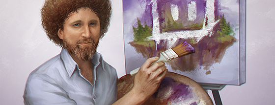 Twitch Launches Creative Category Eight Day Bob Ross Painting