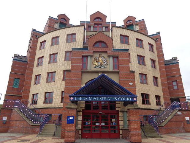 Leeds Magistrate Court, where voyeur Stefan Riga was sentenced this week.