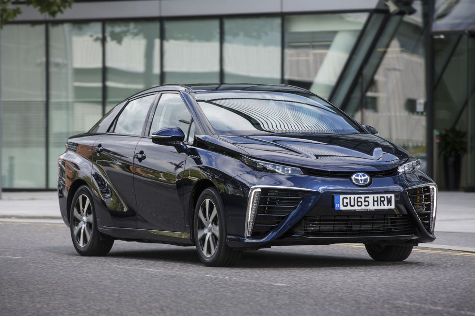 Toyota Mirai review: A futuristic, super-smooth hydrogen fuel cell car