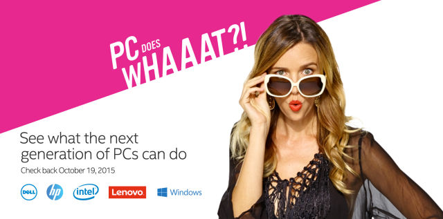"Cringe-worthy ""PC Does What?"" campaign wants you to upgrade"