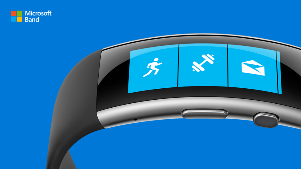 The new Microsoft Band is a sleeker, curvier fitness tracker