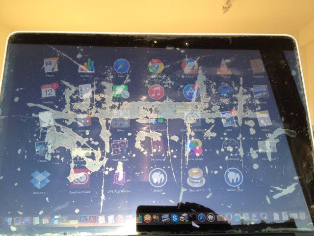 Got a screen that looks like this? You might be eligible for a replacement.