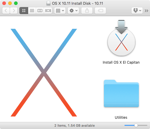 How to make your own bootable OS X 10 11 El Capitan USB