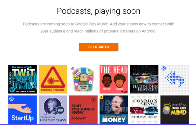 Google gets back into podcast distribution with Google Play Music Podcasts