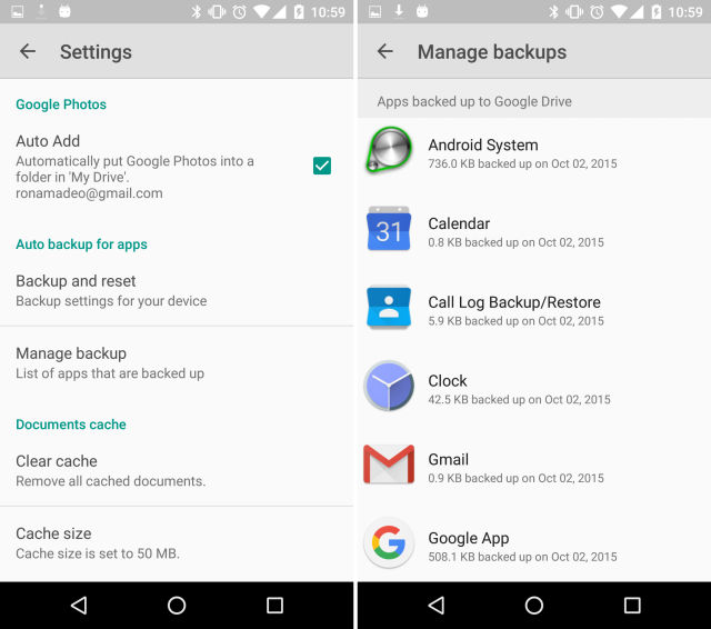 Android 6 0 has a great auto backup system that no one is using (yet