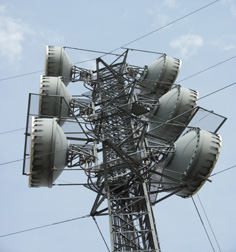 One of StarTouch's microwave backhaul towers.