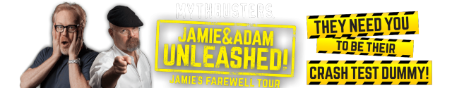 Mythbusters hosts say 14th season will be last, announce farewell tour