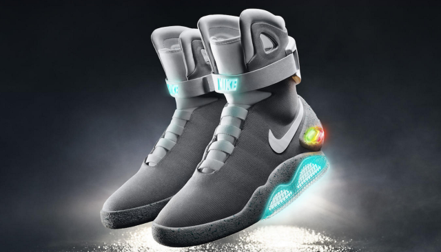 553e8dc1154e Nike s self-lacing Back to the Future Mag shoes arrive in spring 2016