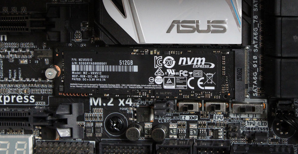 950 Pro review: Samsung's first PCIe M.2 NVMe SSD is an absolute monster
