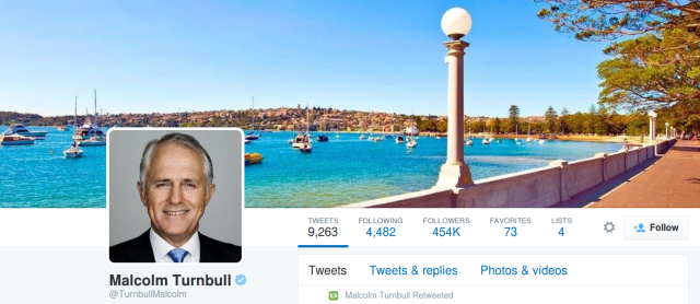 Australian prime minister runs private e-mail server, uses Confide and Wickr