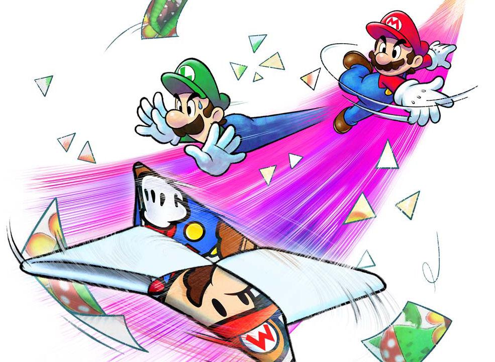 Mario And Luigi Paper Jam Bros Reviewed Stuck Between Two