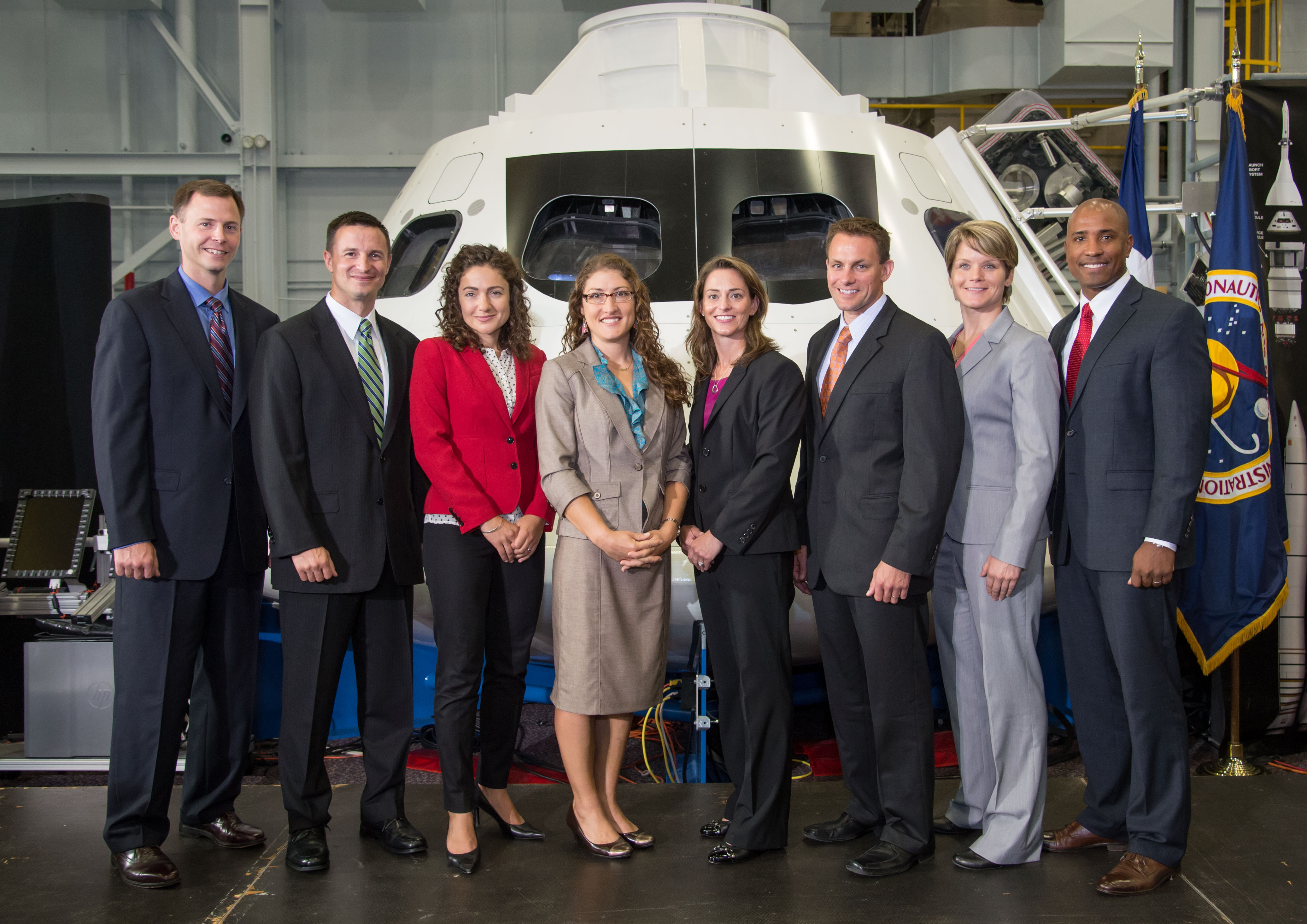 For the first time, in 2013, NASA selected an equal number of men and women candidates.