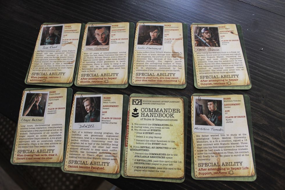 "The variety of characters and their individual perks, along with the perks for being randomly assigned the ""commander"" card—which can trade hands depending on certain in-game triggers."