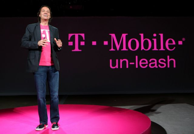 T-Mobile US CEO John Legere.