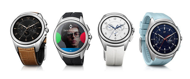 The LG Watch Urbane 2nd Edition LTE.