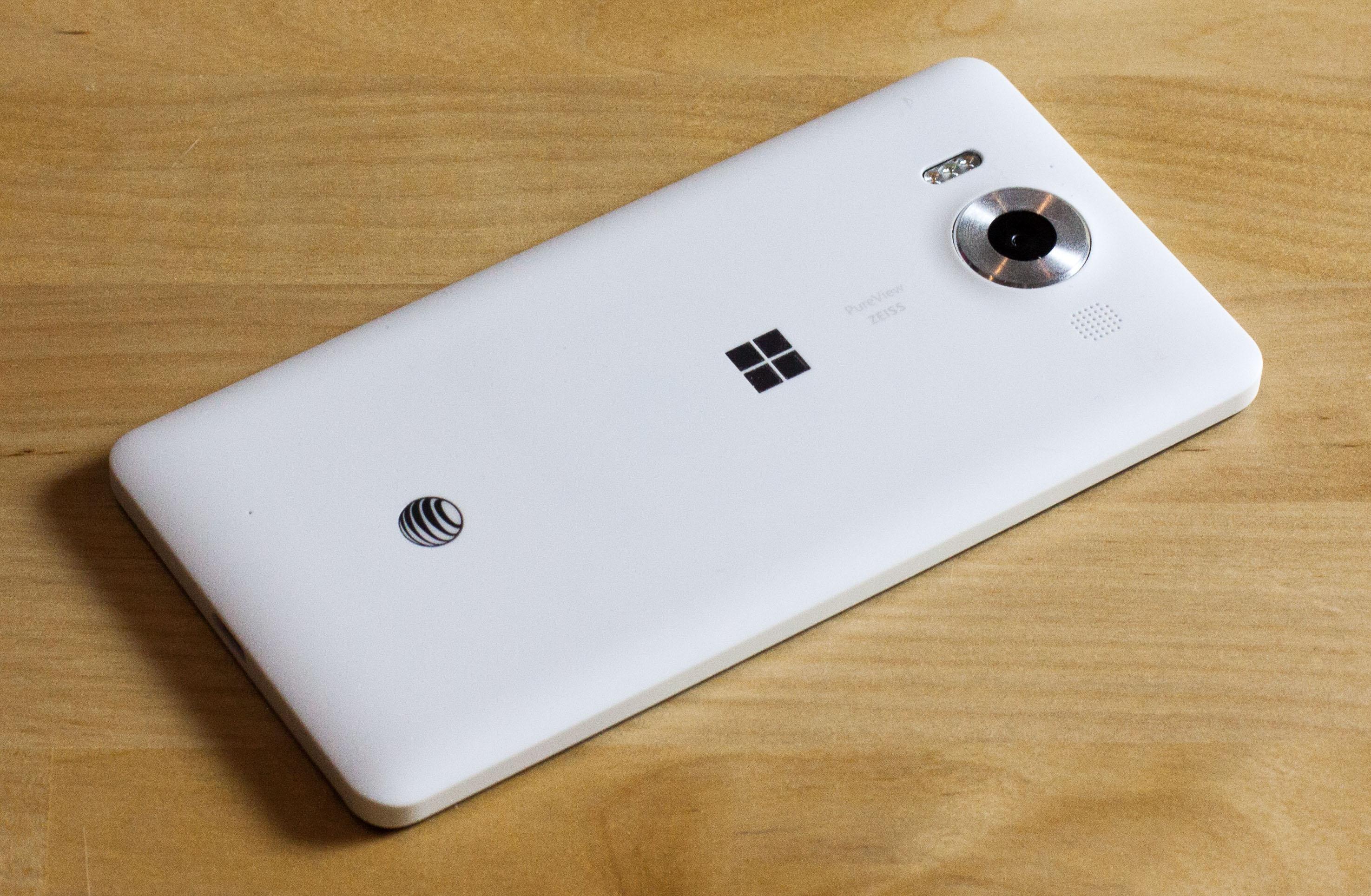 The last high-end phones Microsoft released were the Lumia 950 (pictured) and 950 XL, which came out in November 2015.