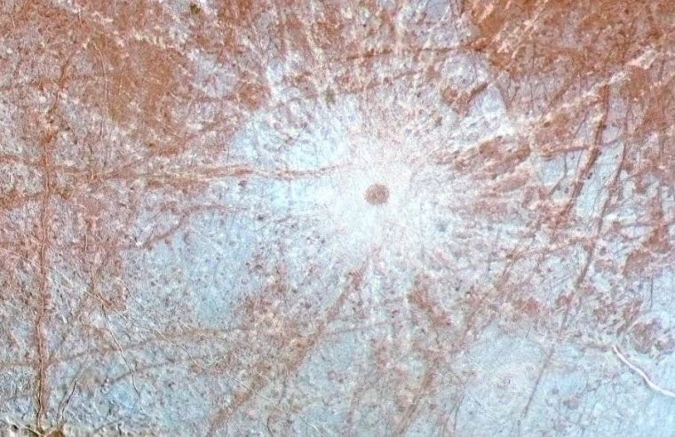 Jupiter's moon Europa has enough ingredients to sustain life