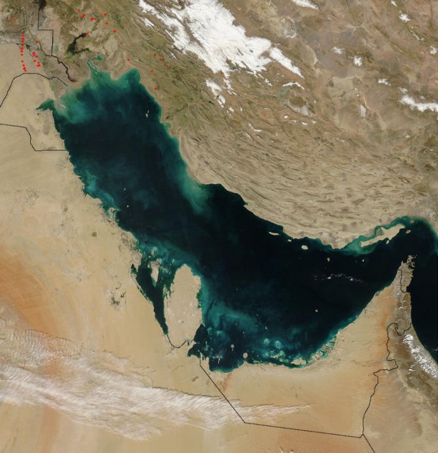 Persian Gulf temperatures may be at the edge of human tolerance in 30 years