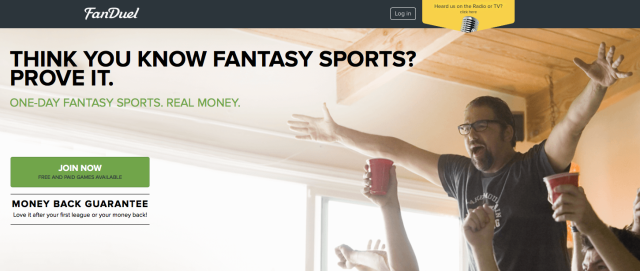 Can pro sports players legally demand payment from online fantasy sites?