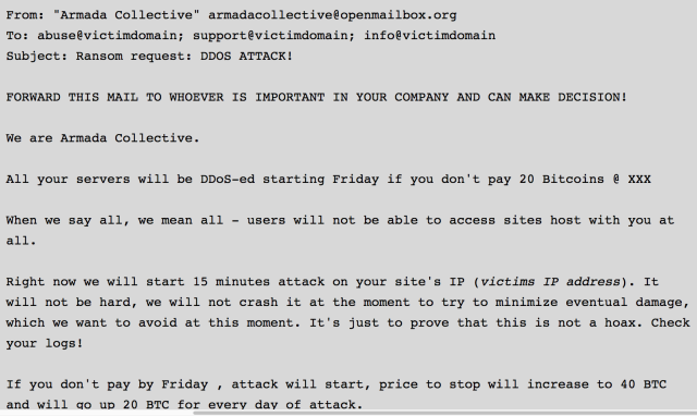 How extorted e-mail provider got back online after crippling DDoS attack