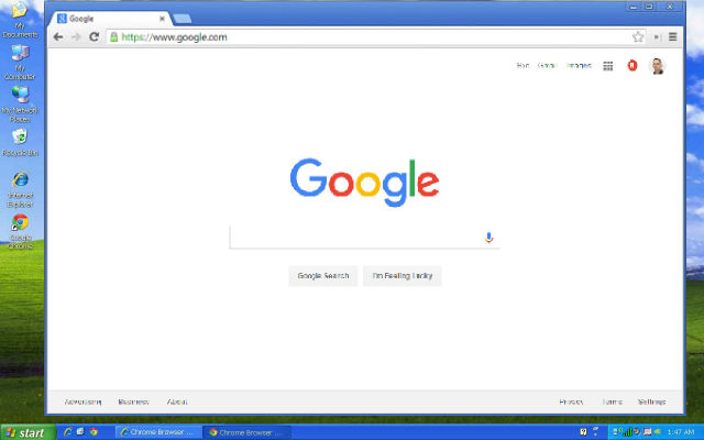 google chrome mac os x 10.8.5