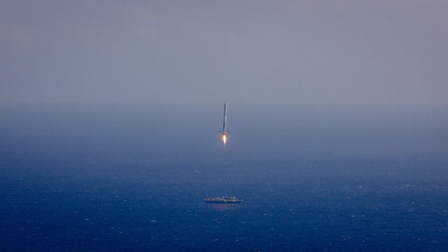 SpaceX didn't quite stick the landing of its Falcon 9 rocket in April, 2015. Now it wants to try doing so on land.