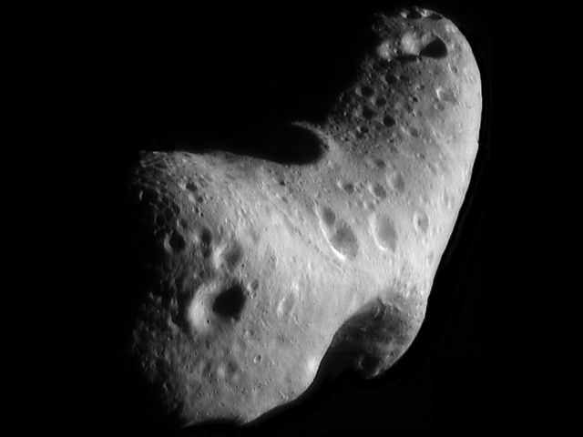 If a company can reach an asteroid like Eros, it gets to keep the booty within.