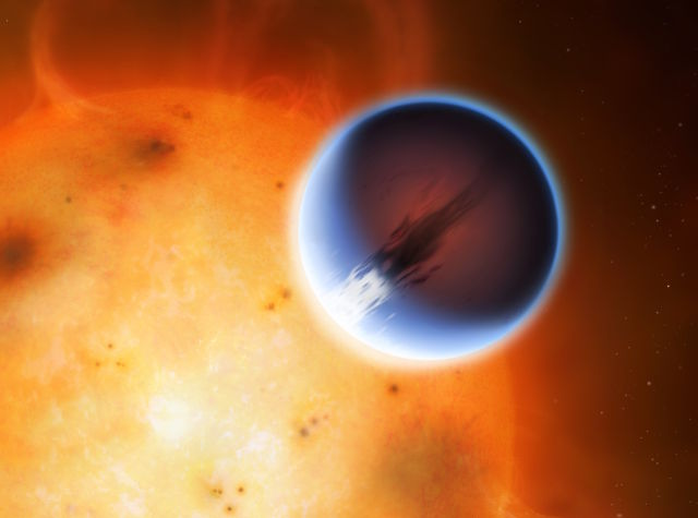 Another exoplanet weather report:  8,500 km/hour winds