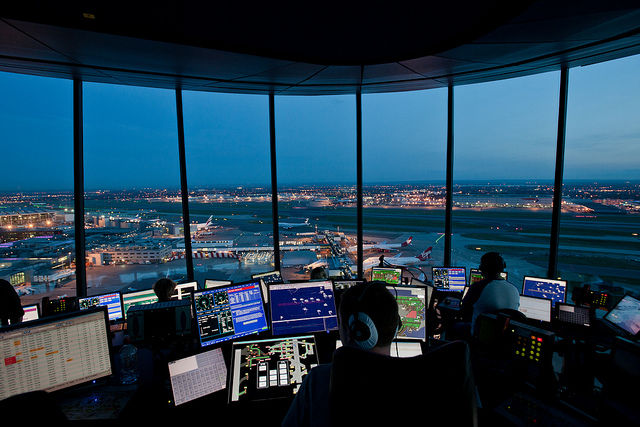 Heathrow Tower.