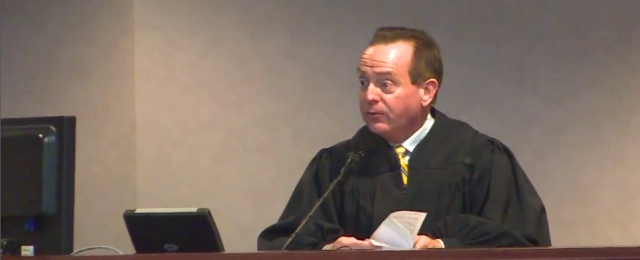 Wayne County Superior Court Judge Arnold Ogden Jones.