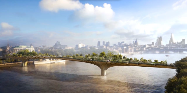 London's new Garden Bridge will track visitors with CCTV, phone Wi-Fi signals