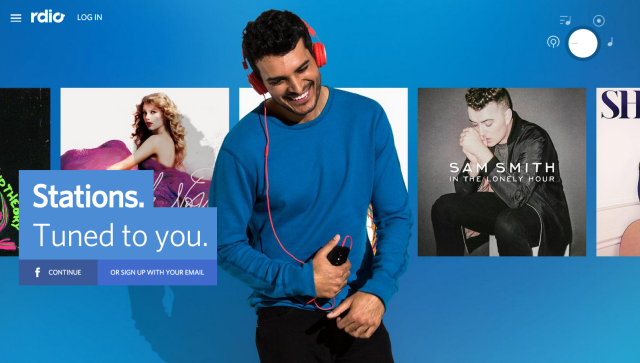 Rdio shutting down, and Pandora will buy its technology