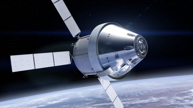 NASA's Orion spacecraft may first carry crew into space in 2019 under a new plan NASA is considering.