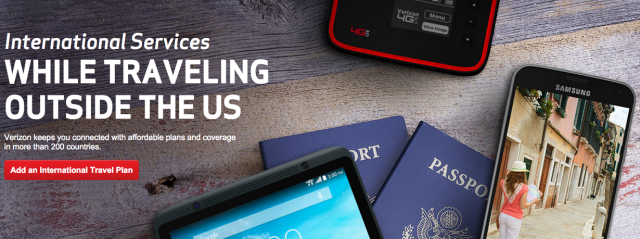 Verizon offers $10-a-day global roaming that uses your