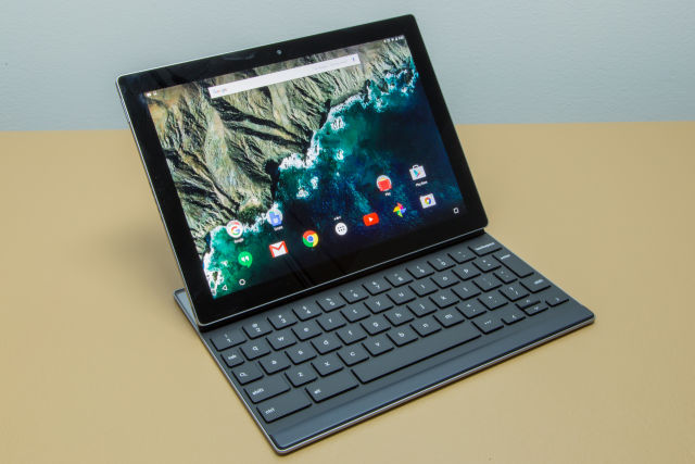This is the fully assembled Pixel C—for $349, you'd just get the tablet part.