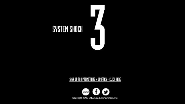 System Shock 3 in development at Otherside Entertainment