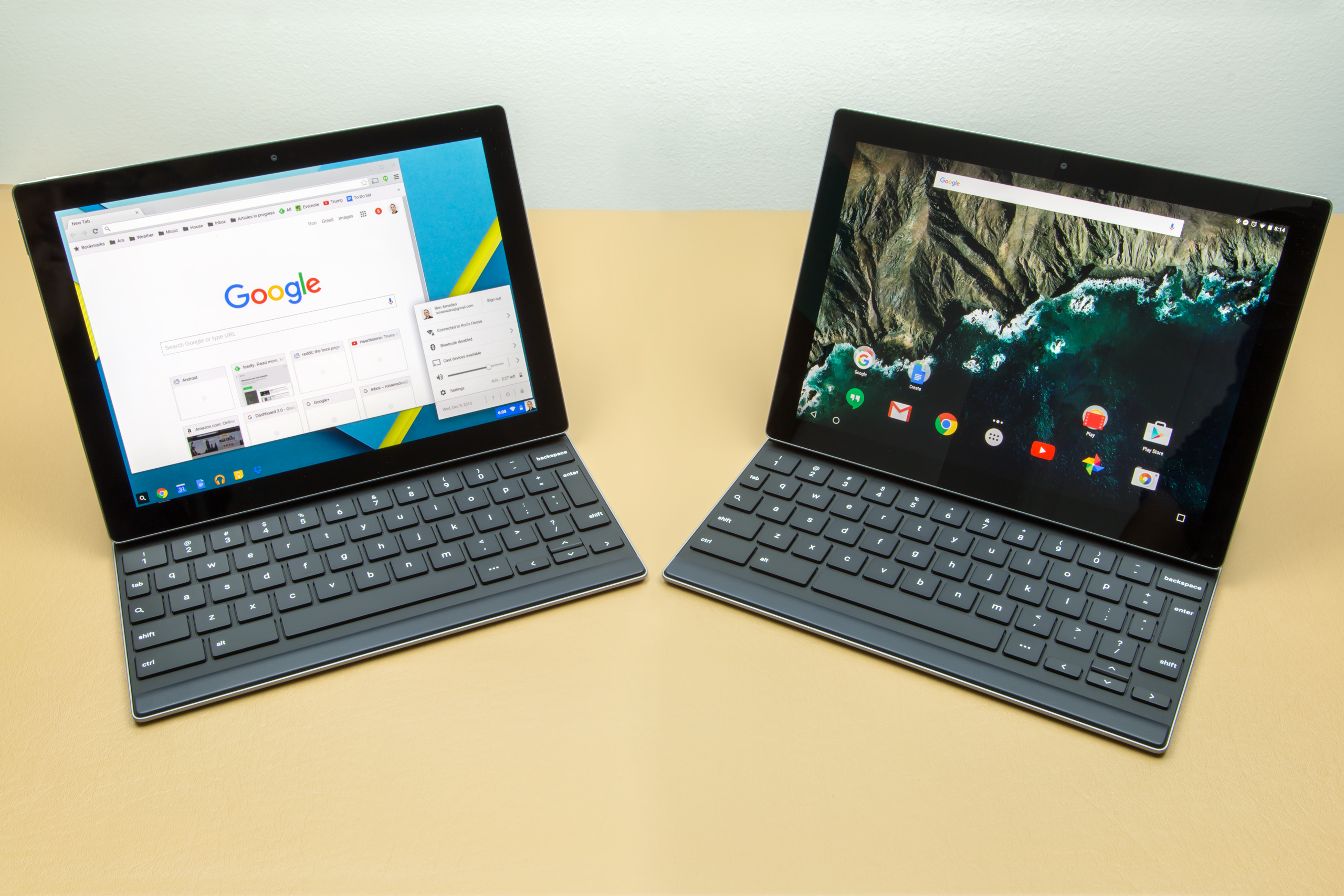 The Pixel C was probably never supposed to run Android | Ars Technica