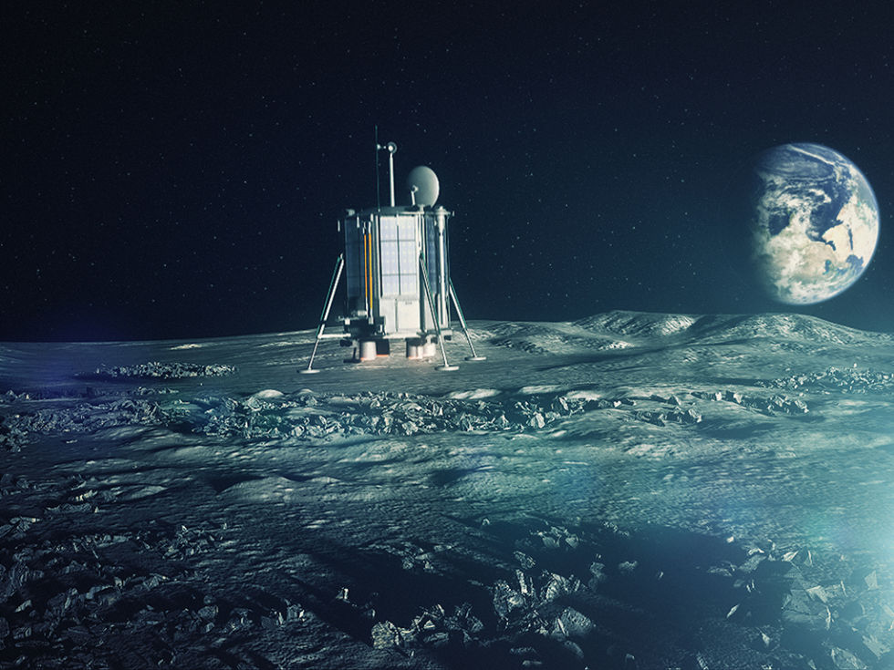 Building an archive on the Moon (and doing science, too)