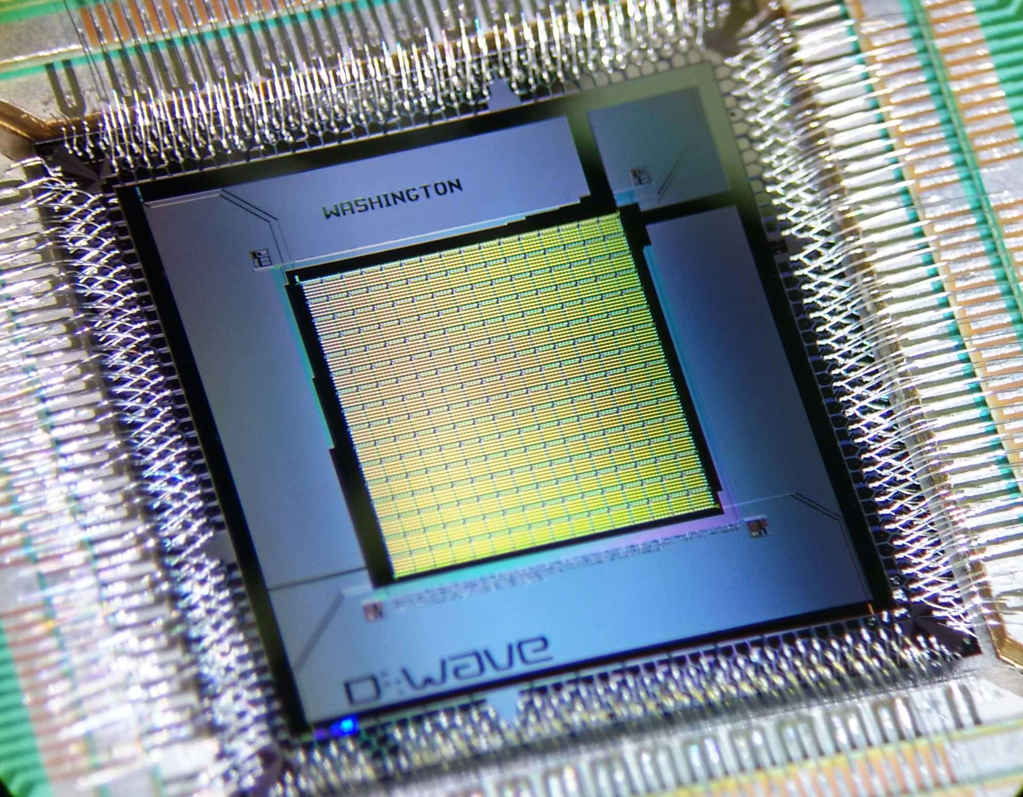 Is D-Wave's quantum processor really 10⁸ times faster than a