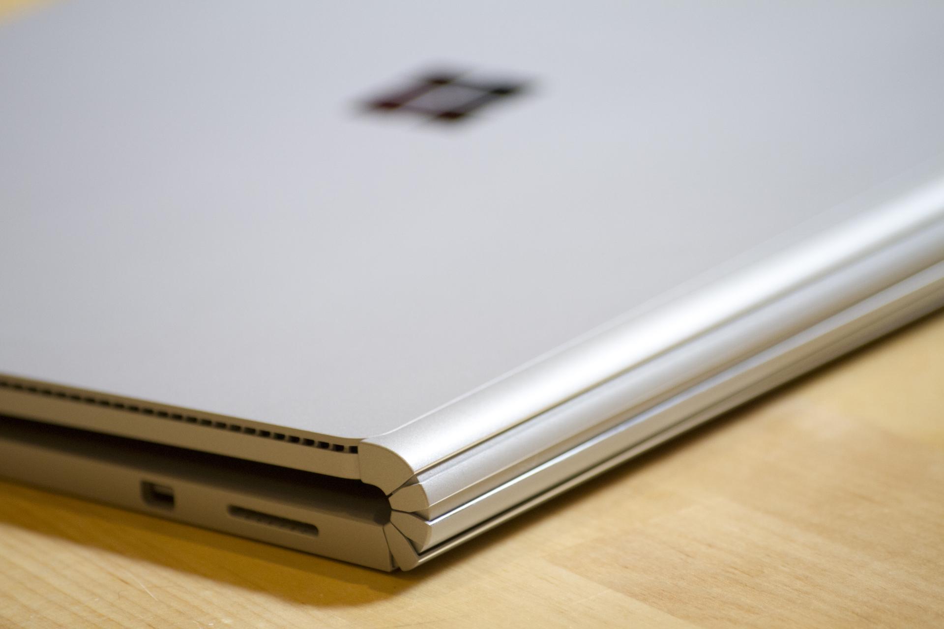 The Surface Book has a novel hinge.