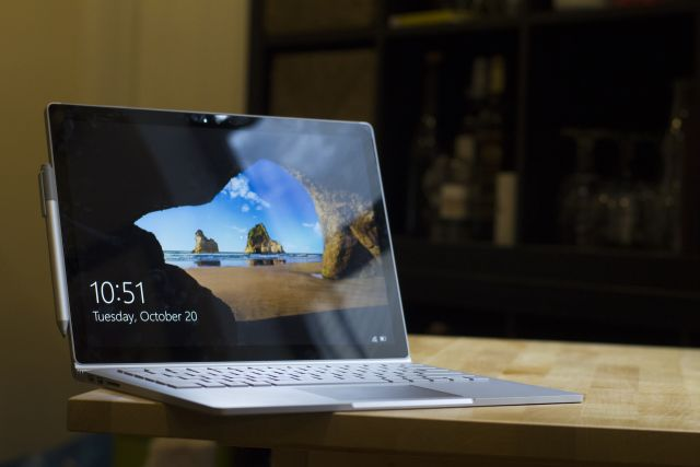 Microsoft's Surface Book.